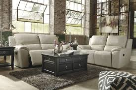 Power Reclining Sofa And Loveseat Sets Valeton Cream 2 Seat Power Reclining Sofa From Ashley U7350047