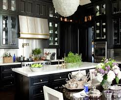 Kitchen With Black Cabinets 16 Kitchens With Black Kitchen Cabinets Done 16 Different Ways