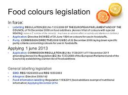 list of colours food colours ppt download