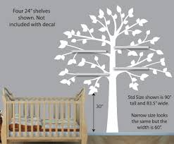 White Tree Wall Decal Nursery by Amazon Com Vinyl Yellow Gray Wall Decals White Tree Wall Decal