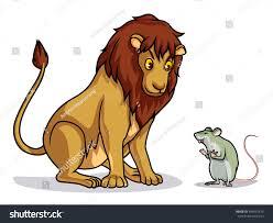 lion rat draw cartoon vector stock vector 399491815 shutterstock