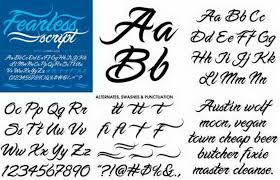 different types lettering fonts for tattoos 5436131 top tattoos