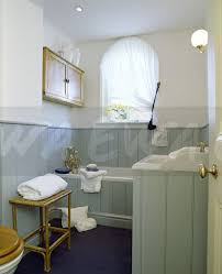 Tongue And Groove In Bathrooms Image Pale Blue Grey Tongue Groove Panelling In Country Bathroom