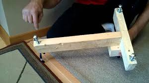 rifle shooting stand rest diy homemade 5 youtube