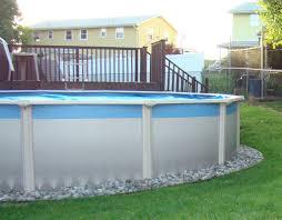 above ground pool landscaping ideas on budget unizwa inspirations