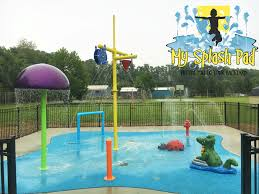 Backyard Amusement Park Doggy Daycare In Myrtle Beach Sc Got The My Splash Pad Treatment