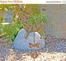 Sheet Metal Garden Art - german shepherd garden stake metal garden art pet memorial