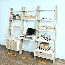 bureau echelle bureau echelle sobuy frg111 wn tagre de rangement bibliothque avec