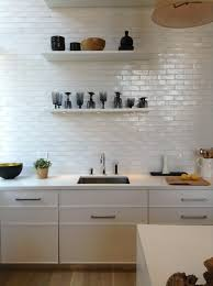 White Kitchen Brick Tiles - mad about metro tiles mad about the house