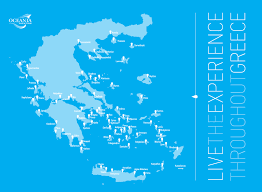 Kos Greece Map by Map Oceaniayachting Com Agency Licenced In Greece