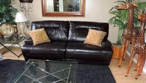 Ricardo Cognac Leather Dual Power Reclining Sofa SetWE SHIP - Ricardo leather reclining sofa