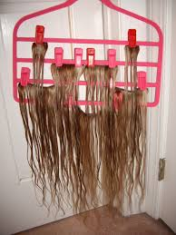 Foxy Clip In Hair Extensions by Convenient Drip Dry And Safe Storage For Clip In Extensions Using