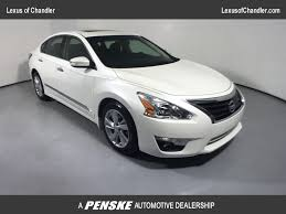 lexus dealership glendale 2014 used nissan altima 4dr sedan i4 2 5 sl at toyota of surprise