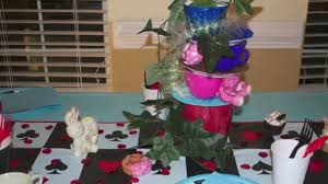 Alice In Wonderland Theme Party Decorations Come Party With Me Alice In Wonderland Theme Party Youtube