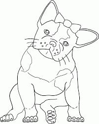 bulldog coloring pages printable kids coloring