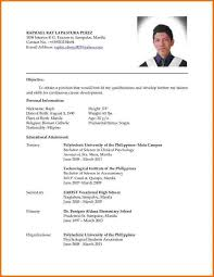 Updated Resume Examples Current Resume Styles Template Resume Builder Sample Resume Format