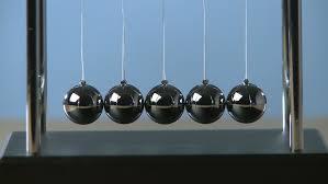 Swinging Desk Balls Newton U0027s Cradle Desk Toy Pendulum Slow Motion Black Background