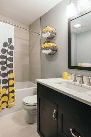 project finished 1989 bathrooms become beautiful contemporary clean contemporary gray and yellow bathroom by silent rivers des moines remodeler