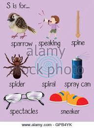 many words begin with letter i illustration stock vector art