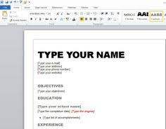 Best Resume Format 2013 by Download Free Microsoft Word Templates For Newsletters Labels