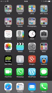 my iphone 6 plus home screen layout design and why it u0027s this way