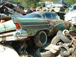 Vintage Ford Truck Junk Yards - off to the junkyard vehicle scrappage rates soar