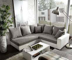 breites sofa ecksofa hellgrau weiß daredevz