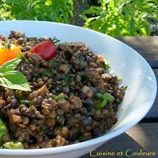 cuisiner les lentilles vertes lentilles vertes du puy à la parmigiana cuisine et couleurs