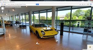 lamborghini museum google adds lamborghini museum to google street view off topic