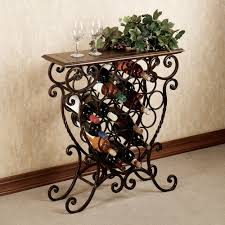 Wine Racks In Kitchen Cabinets Benedetto Wine Rack Table Would Fit Perfectly At The Top Of My