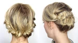 coiffure pour mariage cheveux mi tutoriel coiffure facile cheveux mi longs courts