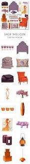 brown and orange home decor best 25 orange and purple ideas on pinterest purple red color