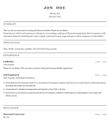 Printable Resume Template Free Printable Resume Builder Templates Resume Cv Cover Letter