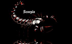 scorpio horoscope wide high definition wallpaper download