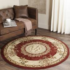 Red Round Rug Red Round Oval U0026 Square Area Rugs Shop The Best Deals For Oct