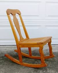 Old Rocking Chair On Porch Furniture Astounding Light Brown Log Rocking Chair As Rustic