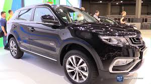 crossover cars 2017 2017 geely nl3 crossover exterior and interior walkaround 2016