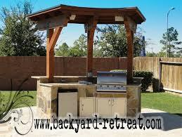 backyard kitchens outdoor kitchens by backyard retreats kitchen houston by
