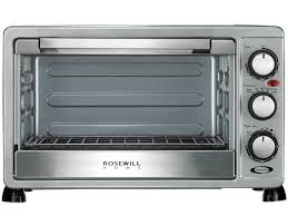 Hamilton Beach 6 Slice Convection Toaster Oven Rosewill 6 Slice Convection Toaster Oven Countertop Stainless