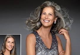 best low lights for white gray hair 7 gorgeous gray hair makeovers