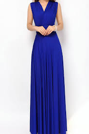 royal blue maxi bridesmaid dresses infinity convertible dress lg