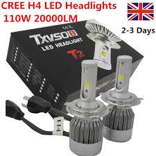 Led Car Lights Bulbs by Cree 110w H1 H4 H7 Led Headlight Conversion Kit Car Driving Lamps