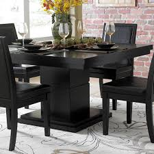 homelegance cicero 5 piece dining room set in black beyond stores