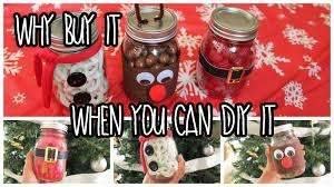 Homemade Christmas Gifts by Easy Last Minute Diy Christmas Gifts Using Mason Jars Youtube