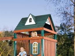 wooden play set roof kit playset roof kits swing set clean up