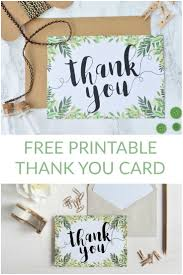 what to say in a wedding thank you card best 25 printable thank you cards ideas on printable