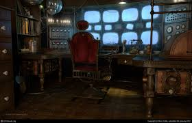 mcf escape from ravenhearst monitoring room by ron crabb 3d