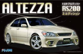 altezza car price fujimi id 27 toyota altezza rs200 sports 1 24 scale kit ebay