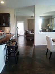 kitchen floor dark concrete kitchen floor diy glazed autumn wood