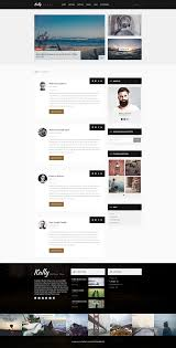 kally personal blog template by habaza themeforest